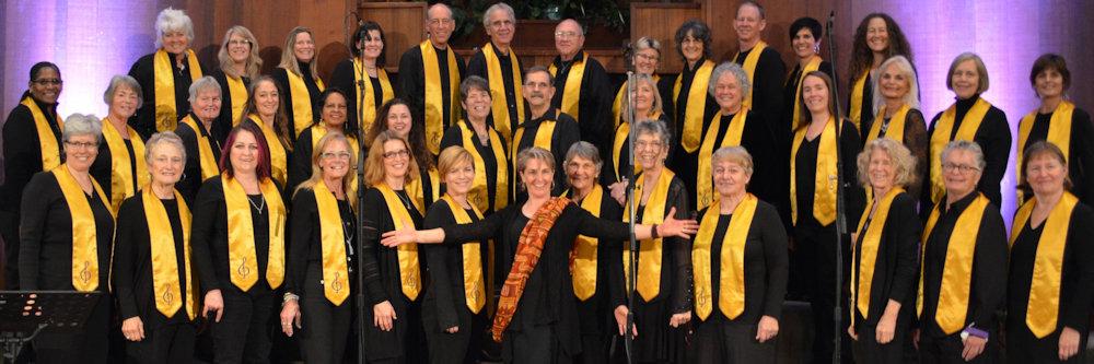 Kath Robinson and Choir
